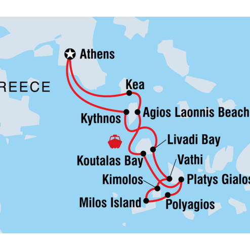 Hidden Cyclades Sailing Adventure