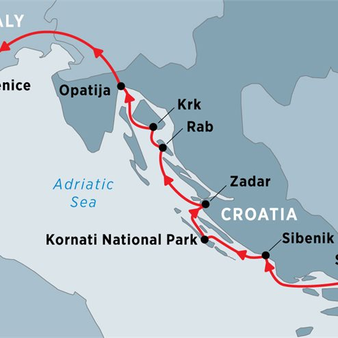 Cruising Croatia's Northern Coast and Islands: Split to Venice