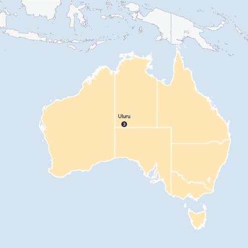 Uluru Explorer ( Until March 2020)(Multi Share,Start Uluru, End Uluru)
