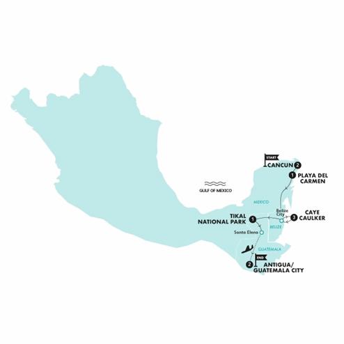 Caribbean Encounter (Until Feb 2021)(Twin Room,Start Cancun, End Antigua)
