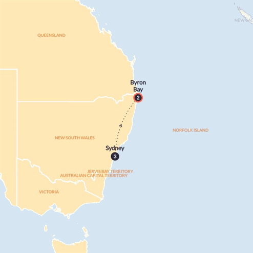 City to Surf (Until March 2020)(Multi Share,Start Sydney, End Byron Bay)