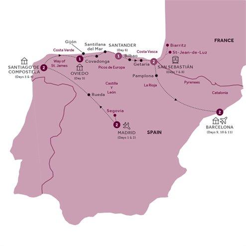 Northern Spain end Barcelona (Summer 2019)