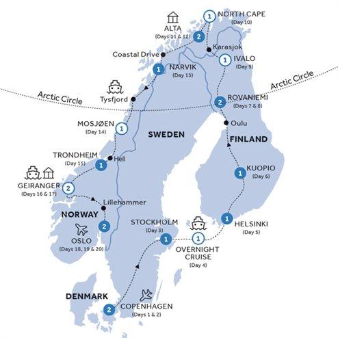 Grand Scandinavia (Summer 2019)