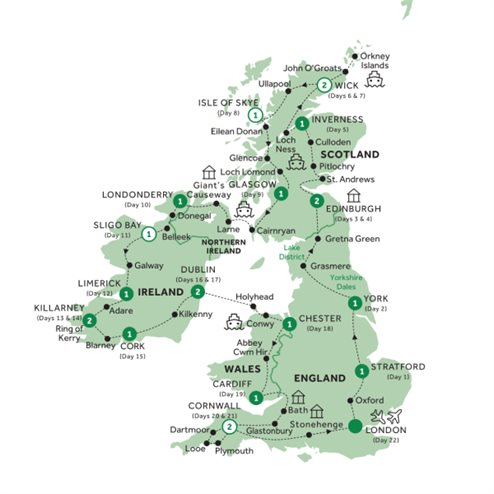 Britain & Ireland Discovery - Summer 2020