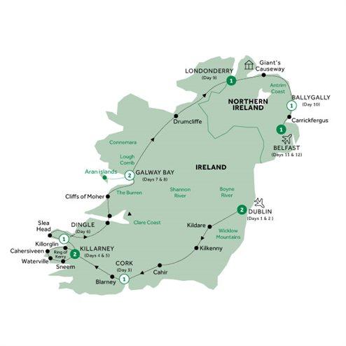 Country Roads of Ireland - end Belfast, Summer 2020