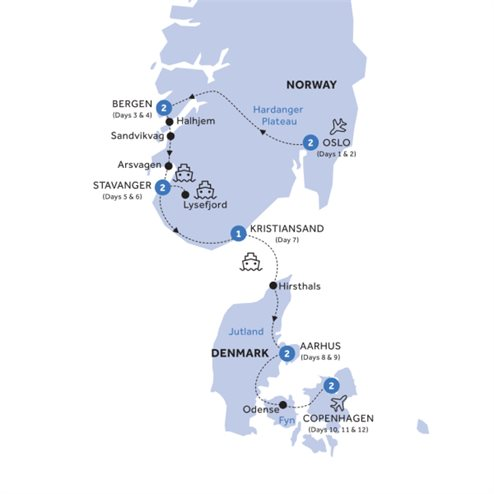 Country Roads of Scandinavia - Summer 2020