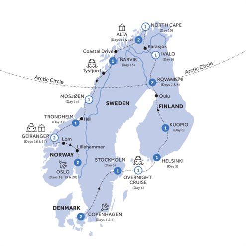Grand Scandinavia (Summer 2020)