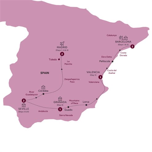 Highlights of Spain - Summer 2020