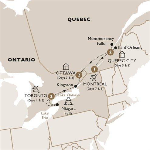Indulgence in Eastern Canada - Summer 2019
