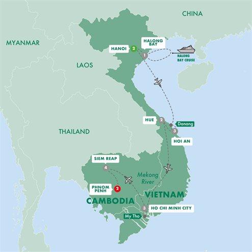 Highlights of Vietnam with Cambodias Angkor and Phnom Penh