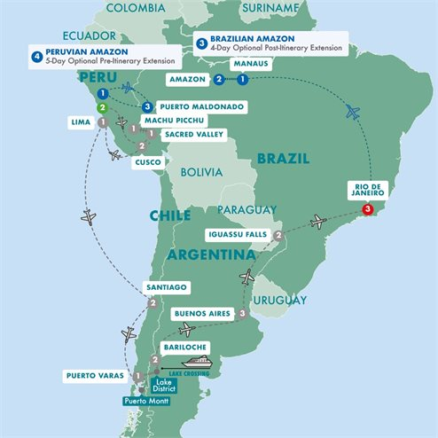 Icons of South America