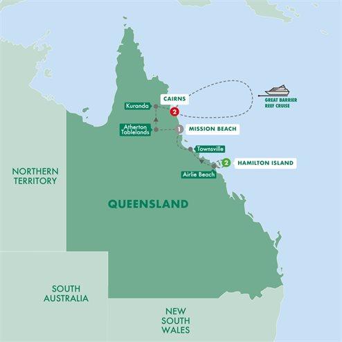 Queensland Islands and Rainforest