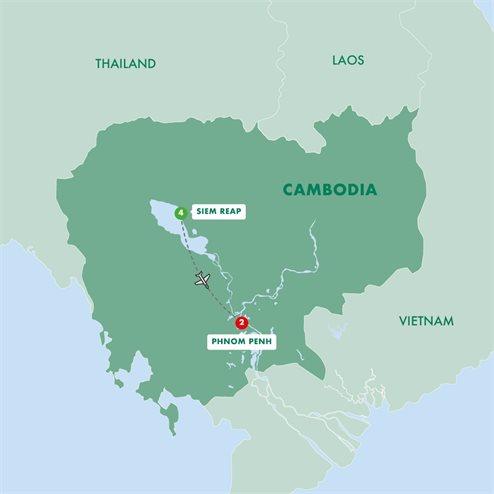 Secrets of Cambodia's Angkor and Phnom Penh