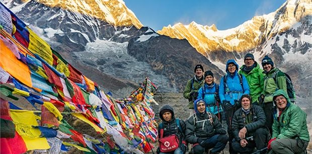 Active Adventures |  AST -  Annapurna Sanctuary Trek
