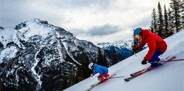 Ski Banff and Lake Louise