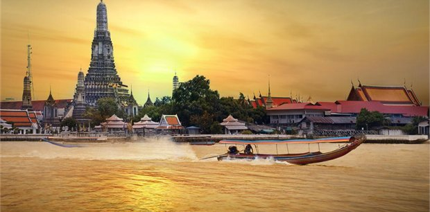 Bangkok with Singapore Airlines