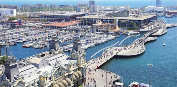 Barcelona with Cathay Pacific