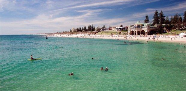 Perth with Qantas
