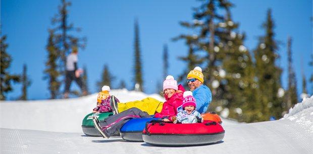 Ski Big White Family Package