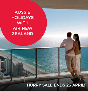 Australia holidays with Air New Zealand