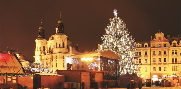 Christmas time on the Danube