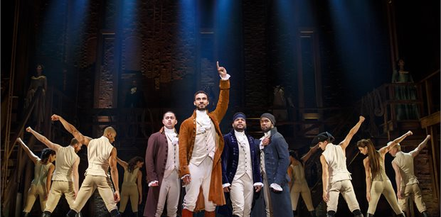 Hamilton the Musical   Crowne Plaza Darling Harbour