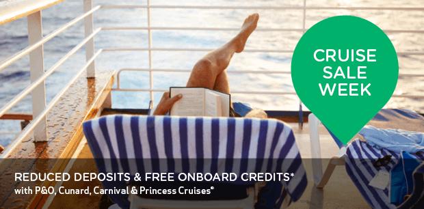 Princess Cruise Sale Week - Europe