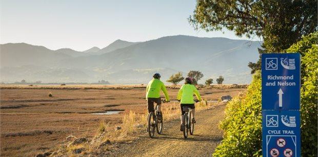Escorted New Zealand | Tasman Cycle Tour