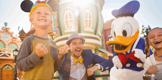 Disneyland Resort | 4-Day One Park Per Day Ticket for the price of 3
