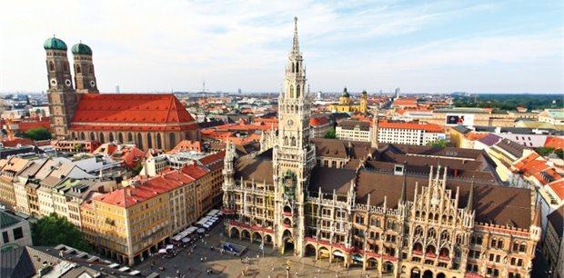 Munich with Lufthansa