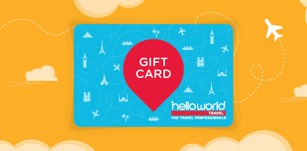 Gift Card with helloworld Travel