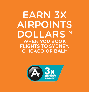 Air NZ Sale & x3 Air Points Dollars