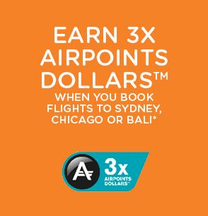 Air NZ Sale & x3 Air Points Dollars
