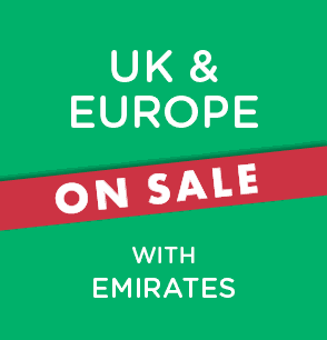 UK & Europe Sale with Emirates