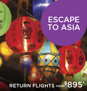 Escape to Asia Sale