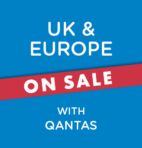 UK & Europe on Sale with Qantas