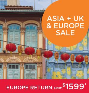 Singapore Sale - Asia & UK Europe