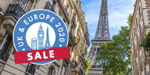 Uk & Europe on Sale with helloworld Travel