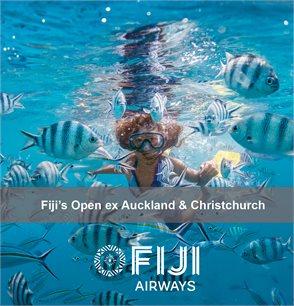 Fiji's Open ex Auckland and Christchurch