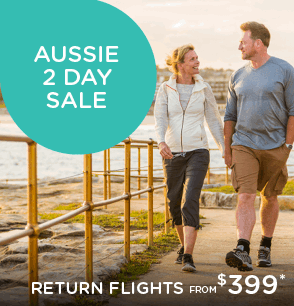 Aussie 2 Day Sale - Flights