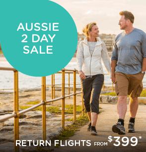 Aussie 2 Day Sale - Flights