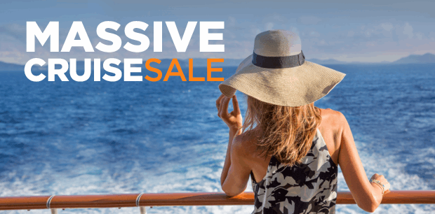 Massive Cruise Sale - Fly & Cruise - Close to Home