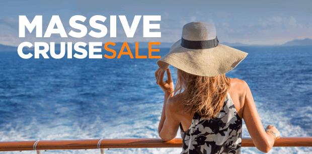 Massive Cruise Sale - Fly & Cruise