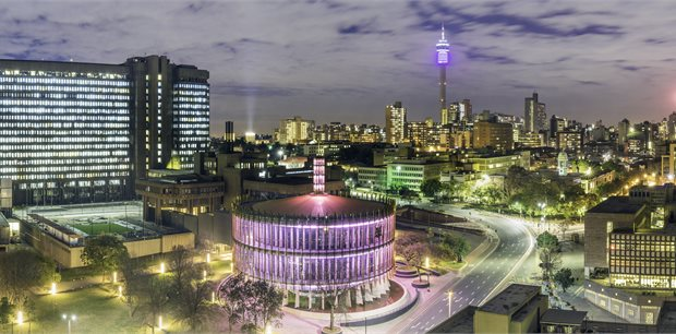 Johannesburg with Qantas