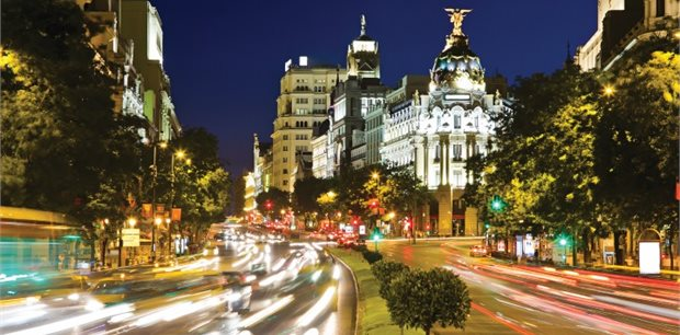 Madrid with Lufthansa - Business Class