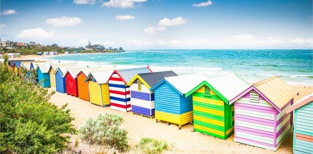 Melbourne with Qantas