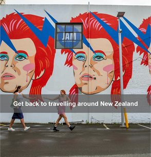 Get back to travelling around New Zealand