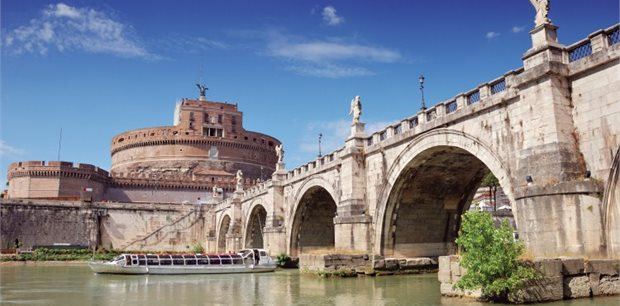 Rome with Singapore Airlines