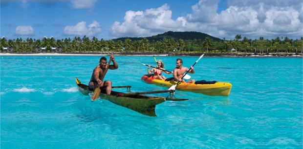 Samoa with Air New Zealand