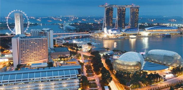Singapore with Air New Zealand